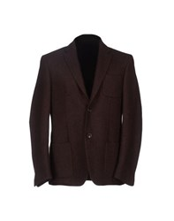 Mauro Grifoni Suits And Jackets Blazers Men Maroon