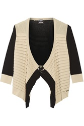 Just Cavalli Two Tone Knitted Cardigan
