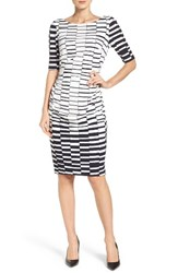Vince Camuto Women's Ruched Body Con Dress