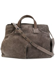 Marsell Slouchy Tote Bag Women Leather One Size Grey