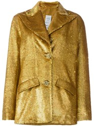 Ashish Sequin Jacket Metallic