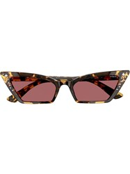 Vogue Eyewear Super Studded Sunglasses Brown