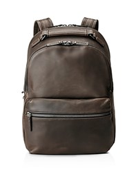 Shinola Distressed Runwell Backpack Charcoal