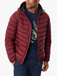 Joules Hooded Go To Quilted Jacket Port