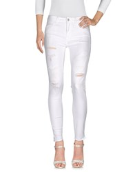 Meltin Pot Jeans White