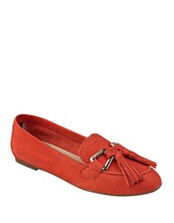 Tommy Hilfiger Hadrian Suede Loafers Orange