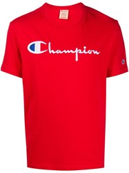 Champion Embroidered Logo Crew Neck T