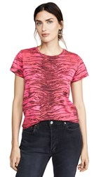 Pam And Gela Tiger Tee Red