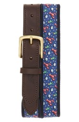 Vineyard Vines Men's Lobster Canvas Club Belt