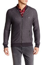 Original Penguin Herringbone Loop Jacket Gray