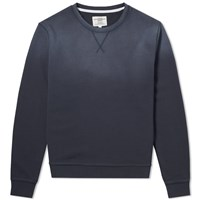 Kent And Curwen Hutton Core Crew Sweat Blue