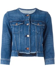 J Brand Catesby Denim Jacket Blue