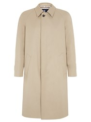 Aquascutum London Single Breasted Filey Raincoat Camel