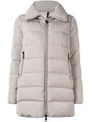 Moncler 'Torcyn' Padded Jacket Nude And Neutrals