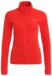 The North Face Glacier Fleece High Risk Red