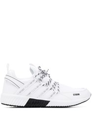 Plein Sport Runner Lace Up Sneakers White