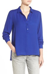 Junior Women's Lush 'Perfect' High Low Shirt