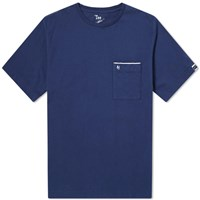 Nanamica Pocket Tee Blue
