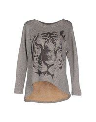 Romeo Y Julieta Topwear Sweatshirts Women Grey