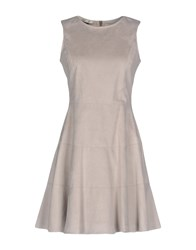 Toy G. Short Dresses Grey