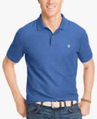 Izod Performance Advantage Pique Polo Blue Revival