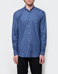 Journal Grit Stripe Shirt Navy