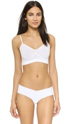 Yummie Tummie By Heather Thomson Audrey Seamless Day Bra White