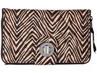 Vera Bradley Turn Lock Wallet Zebra Wallet Handbags Animal Print