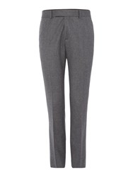 Simon Carter Flannel Trousers Light Grey
