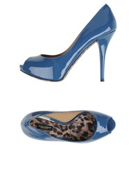 Dolce And Gabbana Footwear Courts Women Pastel Blue
