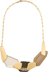Maiyet Gold Tone Necklace Metallic