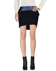 Kai Aakmann Mini Skirts Dark Blue