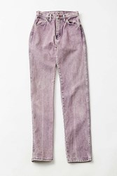 Urban Renewal Vintage Wrangler Purple Relaxed Jean A X Small Assorted
