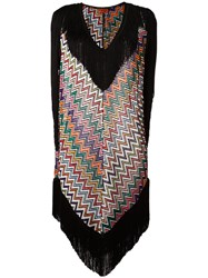 Missoni Zig Zag Beach Dress Black