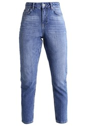Only Onlmom Slim Fit Jeans Light Blue Denim Light Blue Denim