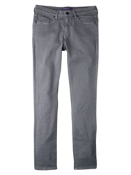Violeta By Mango Super Slim Fit Alexandra Jeans Medium Grey