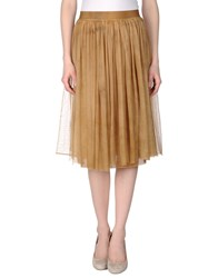 Pink Memories Skirts Knee Length Skirts Women Sand