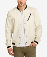 William Rast Men's Mcnight Bomber Jacket Cornstalk
