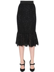 Dolce And Gabbana Cordonetto Lace Pencil Skirt