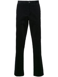 Kent And Curwen Corduroy Trousers Black