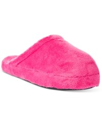 Charter Club Super Soft Slippers Only At Macy's Hot Pink