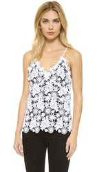 Theperfext Crochet Lace Tank White