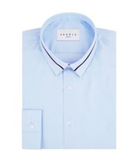 Sandro Orchestra Contrast Collar Shirt Blue