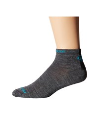Pearl Izumi Elite Low Wool Sock Shadow Grey Men's Crew Cut Socks Shoes Gray