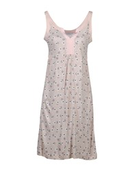 Alpha Massimo Rebecchi Dresses Short Dresses Women Light Pink