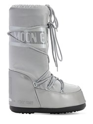 Moon Boot Glance Waterproof Snow Boots Silver