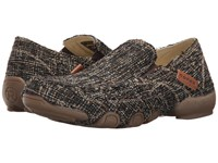 Roper Daisy Tweed Brown Women's Slip On Shoes