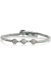 Brooke Gregson Sterling Silver Diamond Bracelet