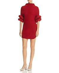 Gracia Chunky Knit Sweater Dress Compare At 114 Red