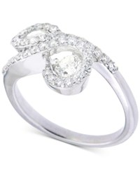 Macy's Diamond Infinity Ring 1 Ct. T.W. In 14K White Gold